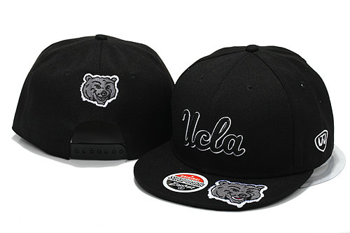 NCAA Black Snapback Hat YS 6